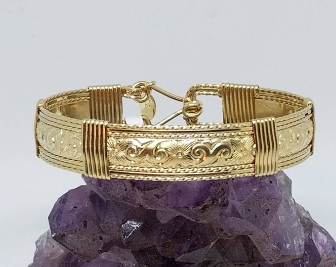 Gold Legend- 14kt Gold Filled bracelet