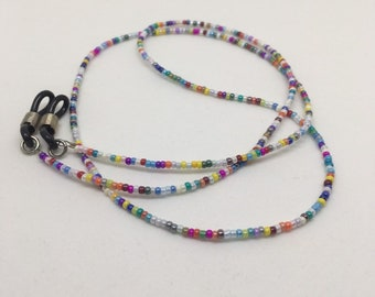 Beaded Pastel Lanyard for Masks, Glasses, Spectacle Cord Chain, Sunglasses