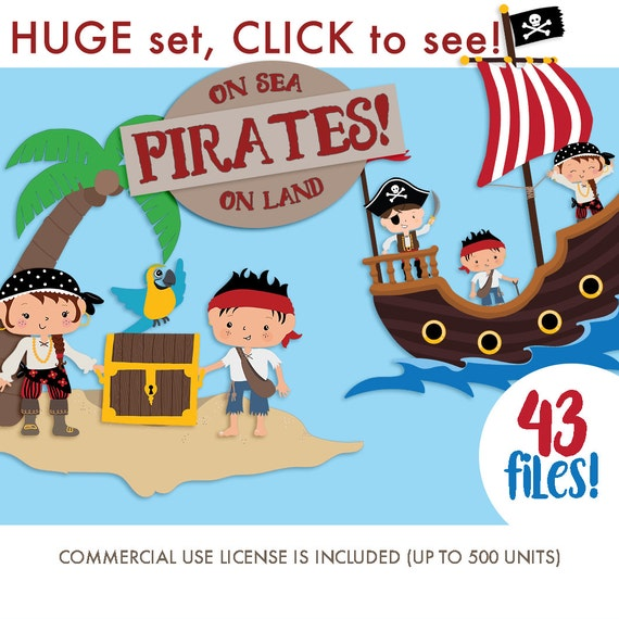 Clipart of the Pirate Treasure Chest free image