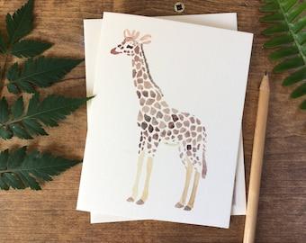 Giraffe Card Set
