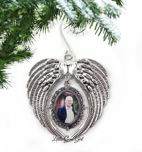 image 0 - Custom Photo Memorial Christmas Tree Ornament Personalized Etsy