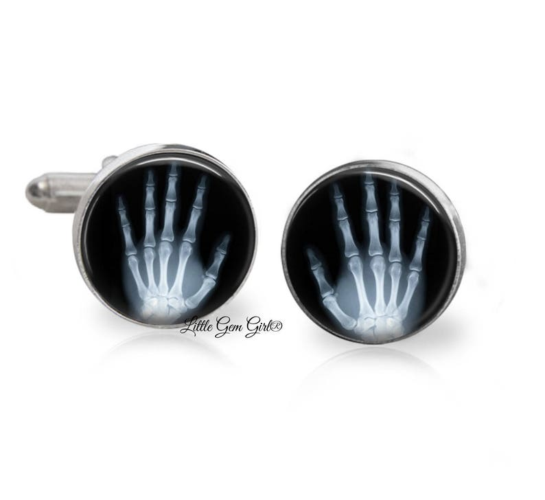 Cuff-Daddy Domed Malachite Cufflinks with Sterling Silver Plate with Presentation Box