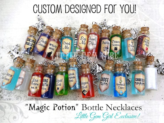 Little magic bottle for sale in my Etsy