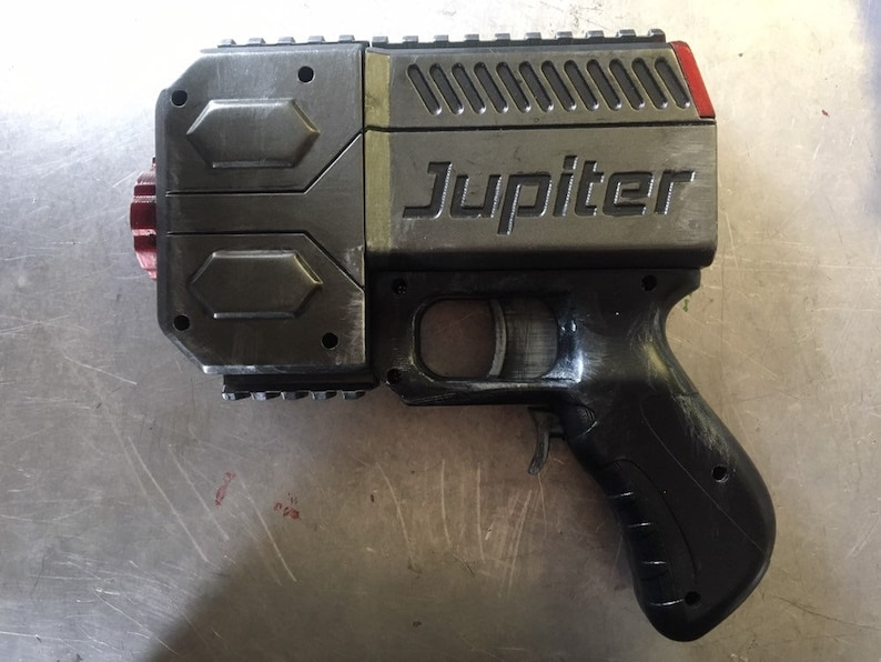 Fully Assembled Jupiter Pistol by Out of Darts (Custom Paint Optional)