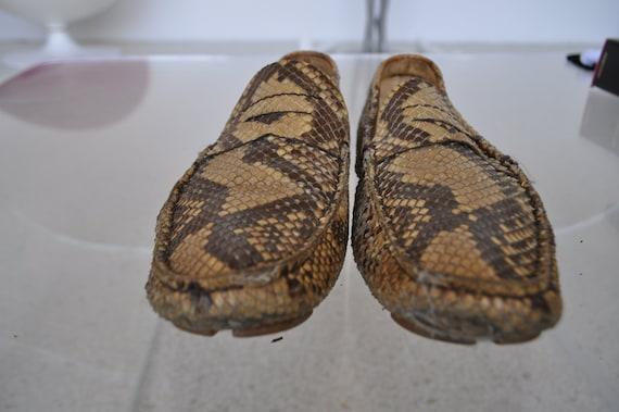 Prada flats snakeskin 90s Python - image 2