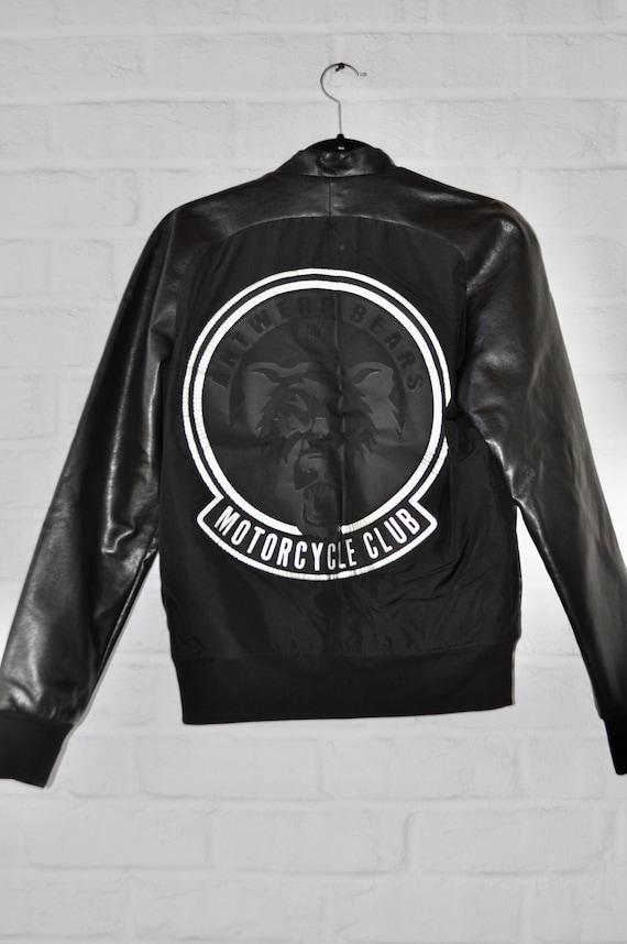 Dirk Bikkembergs Moto jacket