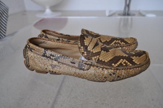 Prada flats snakeskin 90s Python - image 3