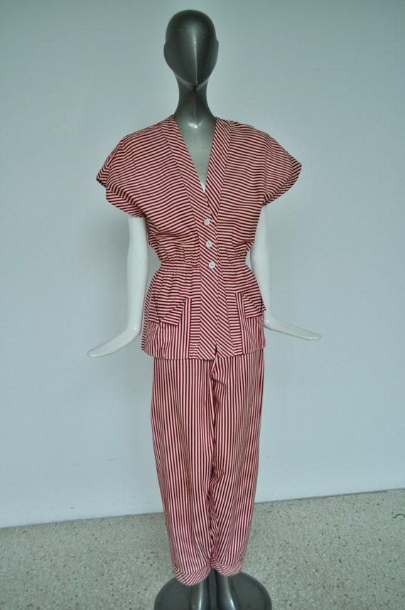 1930s pyjama by Lerche Wäsche Berlin