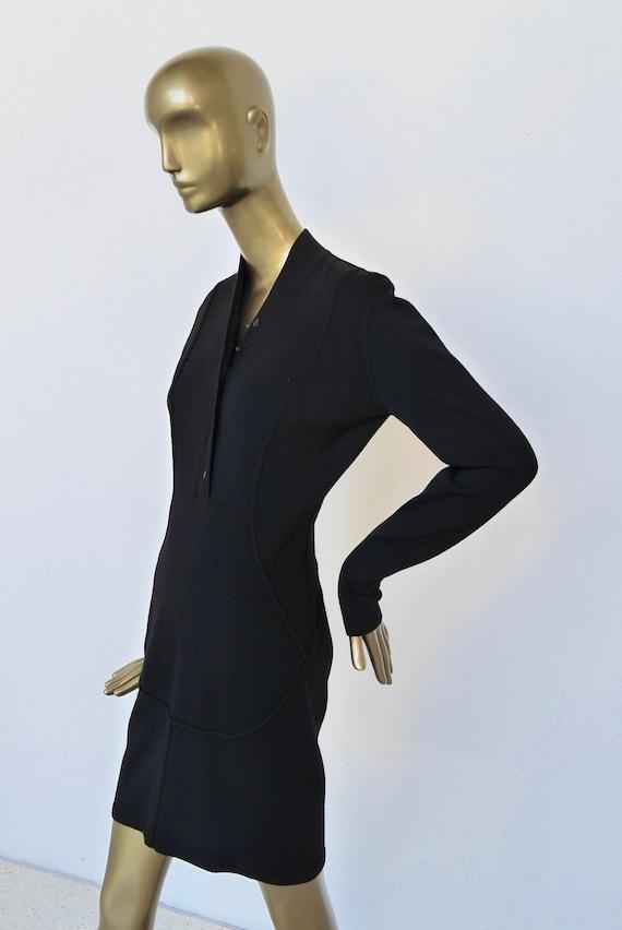 Alaia wool pencil dress 1992 Azzedine Alaia dress