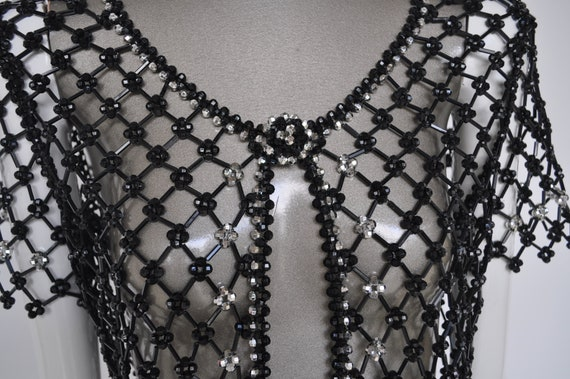 Beaded top 1970s Azzaro - image 4