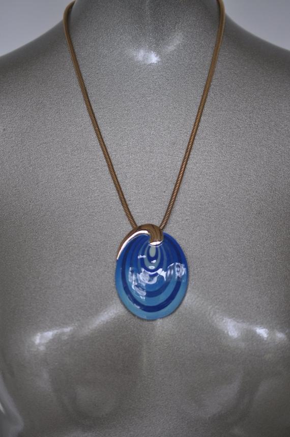 Eisenberg necklace 70s