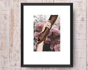 Together - Art Print, Afrocentric Art Print,