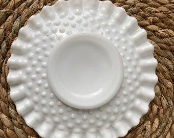 Vintage Milk Glass saucer