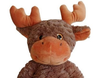 Weighted Plush Moose