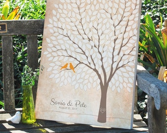 Wedding Tree Signature Guest Book for Up to 300 Guests Size 24x36