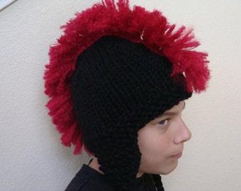 e458b7f58 Mohawk hat | Etsy