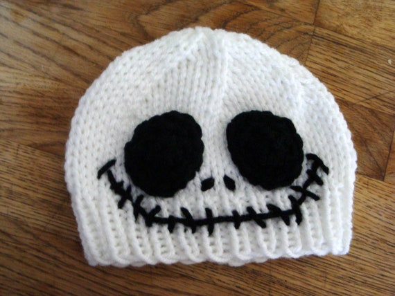 Jack Skellington Beanie Optional Diaper Cover Newborn To Etsy