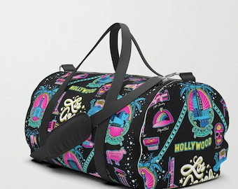 8738b4126f Welcome to Los Angeles! duffle bag