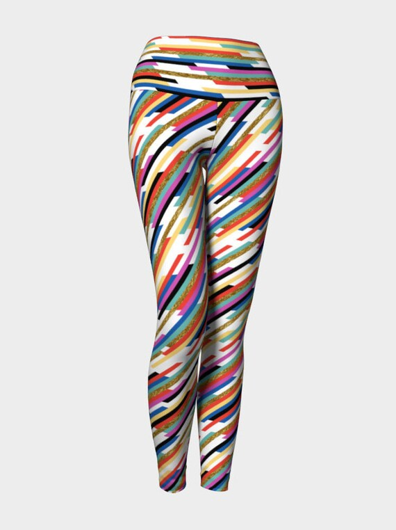 Worth The Hype Stripe Yoga Leggings