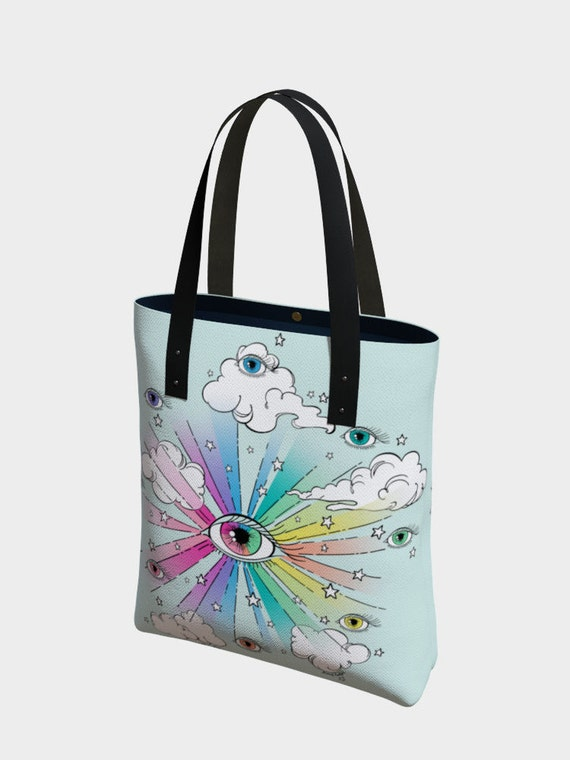 Eye & Mighty Tote Bag