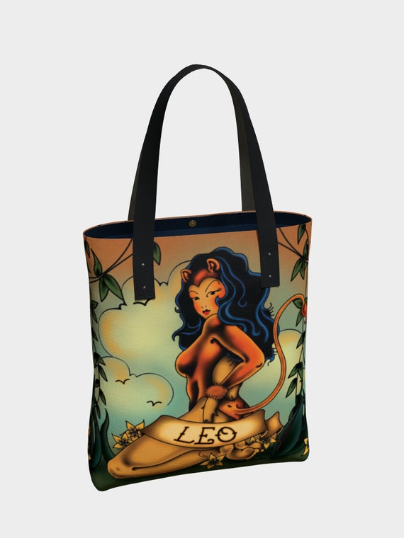 Leo - Tattoo Premium Tote Bag