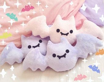 Creepy Cute Bat Plush/Plushie - Lavender, Baby Blue and Baby Pink