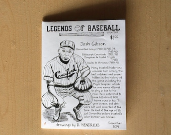 Legends of Baseball Issue 2 - portraits and facts of and about baseball players