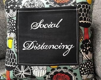 Social Distancing Pocket Pillow