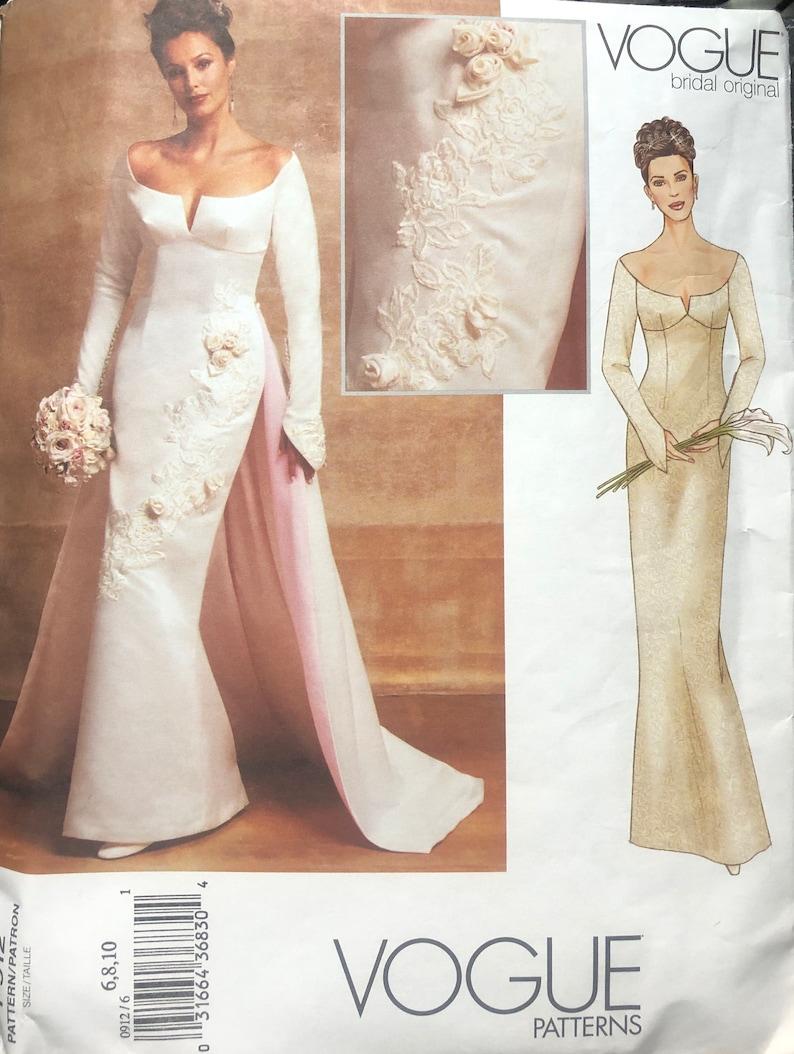 66fa022d8 Vogue 2720 Size 6-8-10 Misses'/Misses' Petite Dress | Etsy