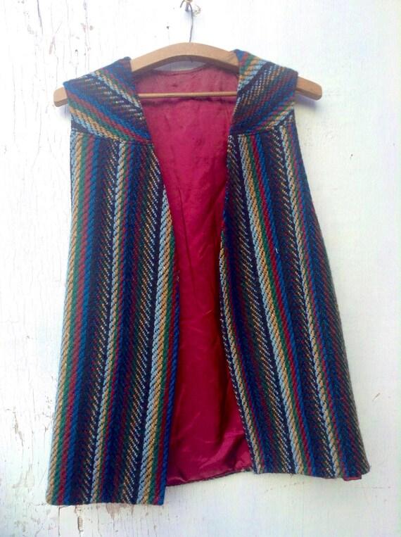 Funky warm woollen hippie boho festival  tapestry