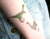 Dinosaur Temporary Tattoo Sheet