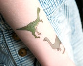 Dinosaur Temporary Tattoos - dinosaur party favour - dinosaur stocking filler - dinosaur tattoos - gift for dinosaur lover
