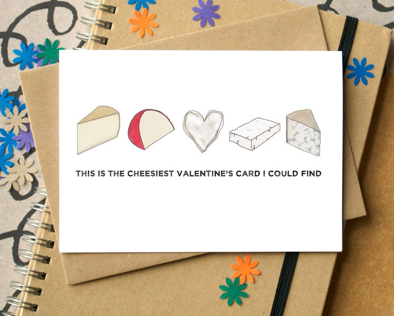 Funny Cheesy Valentine's Card image 0
