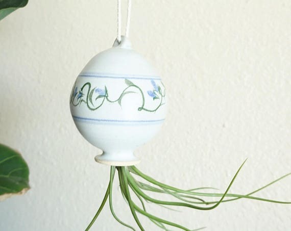 Vintage Stoneware Ceramic Ornament Planter