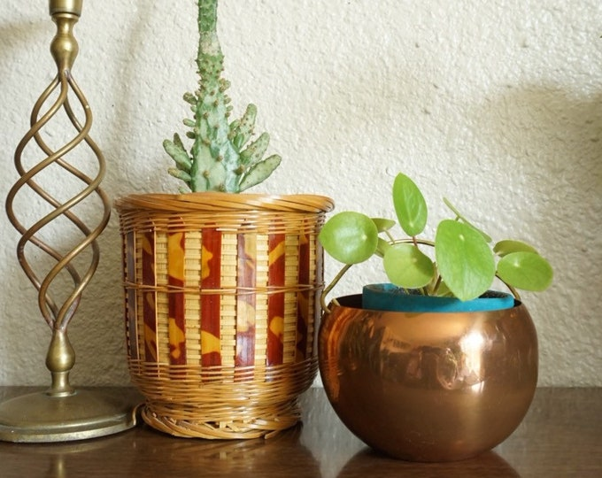 Vintage Copper Cauldron Planter / Pots / Vases - Multiple Selection