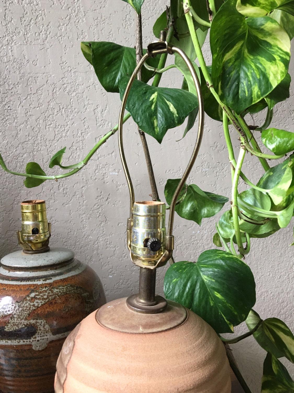 Ribbed Ceramic Table Lamp