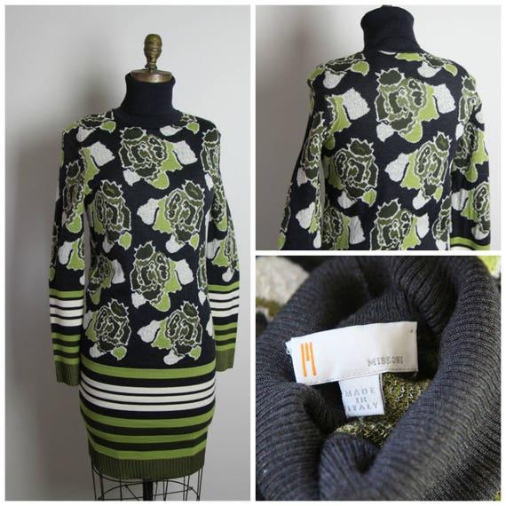Missoni Knit Floral Dress