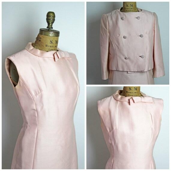 1960s Pink Cocktail Set