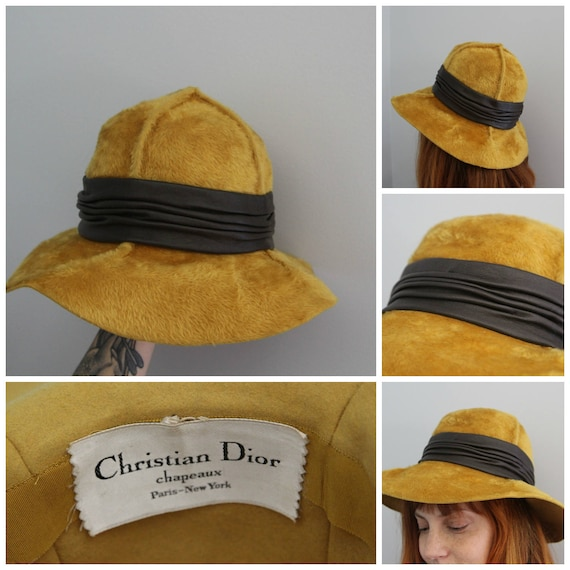 1950s Christian Dior Hat - image 4