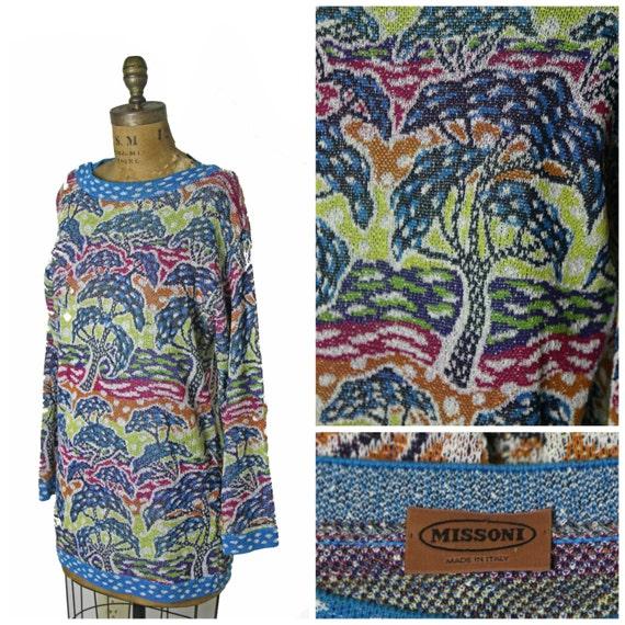 1980s Knit Missoni Dress
