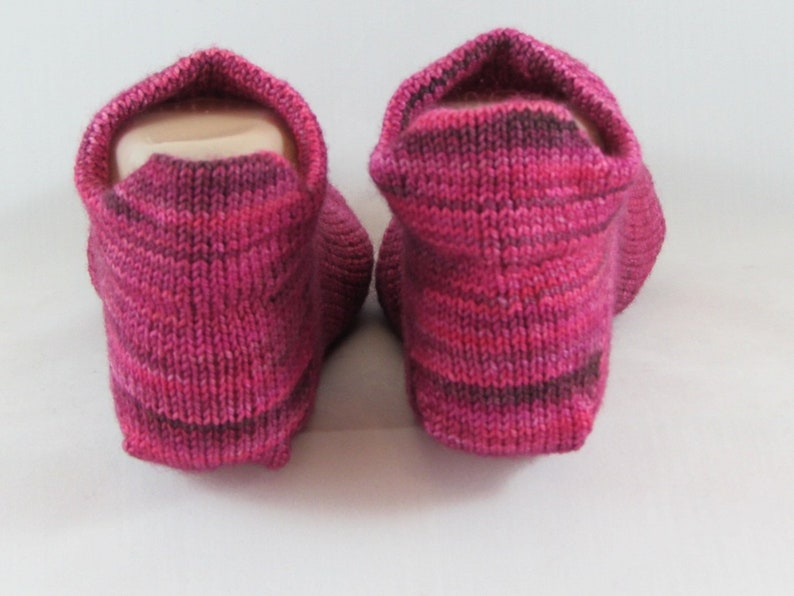 Gift under 20-Hand Knit Socks-No Show Socks-Knit Wool Socks-Striped Socks-Warm Socks-Winter Socks-Knit Winter Socks-Soft Wool-Handmade Socks