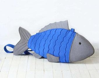 Felt Fish Bag Fish Purse
