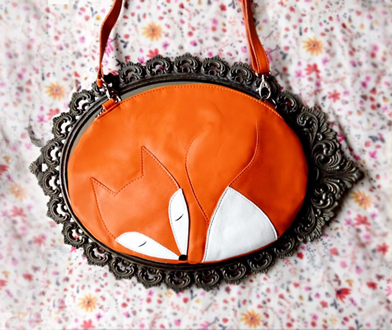 e1fcee2469f Sleeping Fox Bag Fox Purse