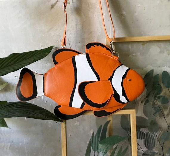 Clown Fisch Fisch Tasche Geldbörse Clown Tasche Geldbörse Bunte rxshQCdt