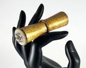 Hold Doreen - Vintage Lipstick Case Jeweled Revlon Futurama Van Cleef and Arpels
