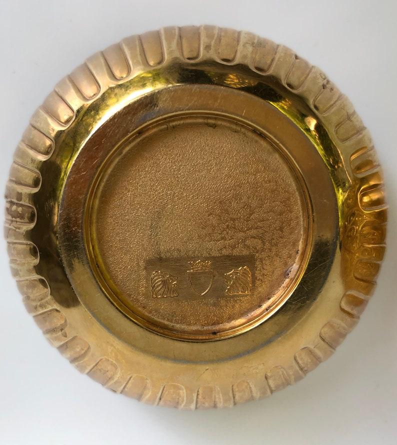 Lipstick Holder Golden Egg Shaped display Vanity Easter Gift Unique Vintage Gift Holiday Christmas Gift