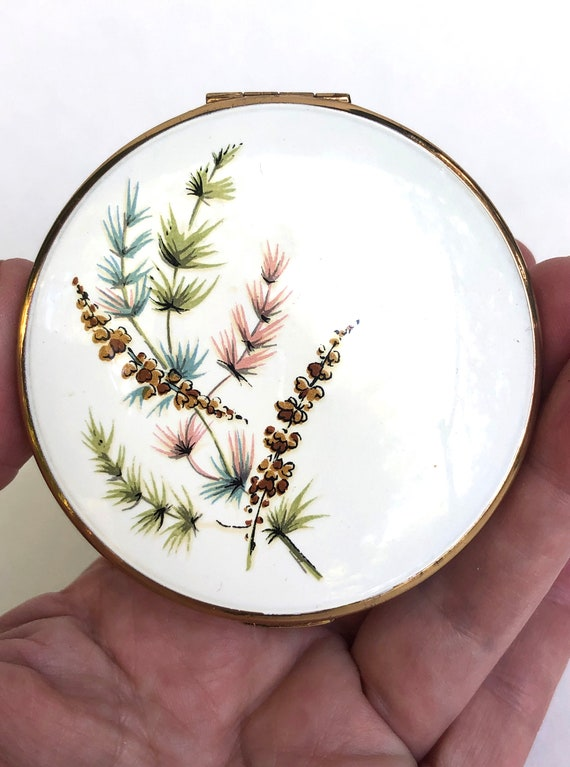 Vintage Compact Mid Century Melissa Made in Englan