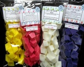 Candle Wax Tarts Melts Chunks Cubes Herbal Botanical Scents 40 pc