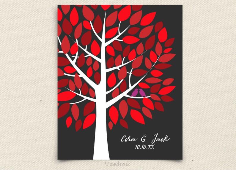 75 guest sign in Wedding Guest Book Alternative Guest Book Alternative Art Peachwik Printable Personalized PDF Wishwik Wedding Tree