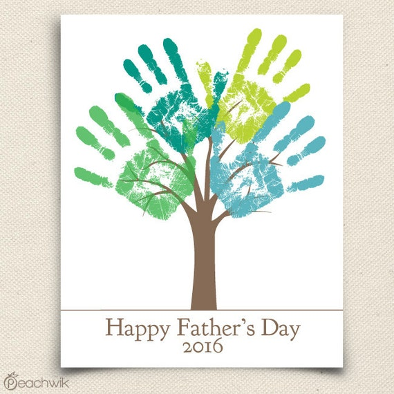 Fathers Day Last Minute Printable Gift DIY Child's